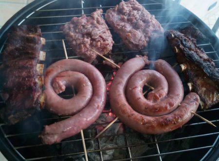 Grigliata: tris di carne di maiale