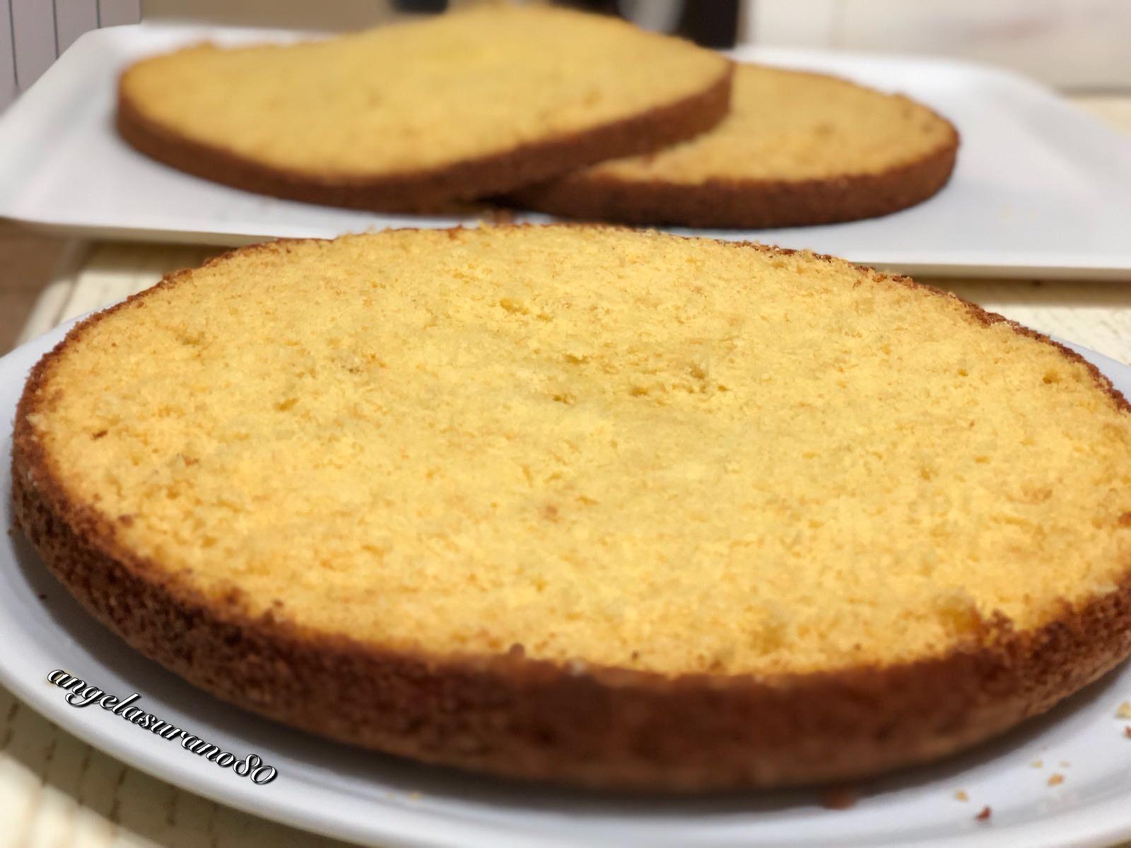 Pan di spagna blog di angelasurano - Glassa a specchio su pan di spagna ...