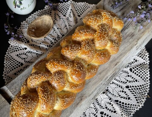 CHALLAH tipico pane ebraico