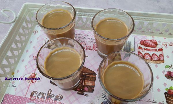 PANNA COTTA AL CAFFE'(anche con Bimby)
