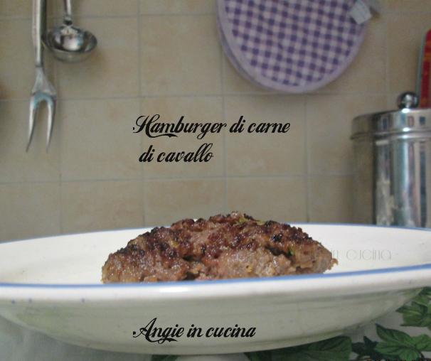 di carne di cavallo - Come Cucinare Hamburger Di Carne