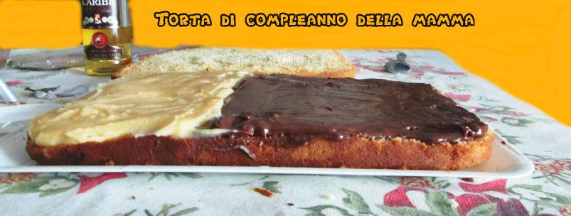 Torta di compleanno della mamma - Colorazione pagina della torta di compleanno ...