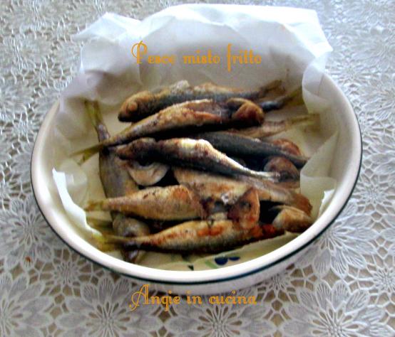 Pesce misto fritto