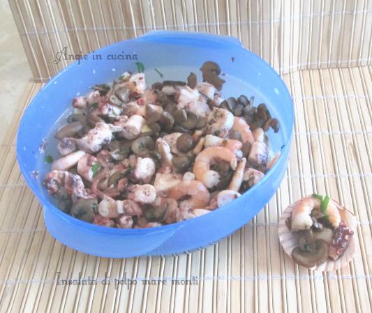 Insalata di polpo mare monti (secondo o antipasto)