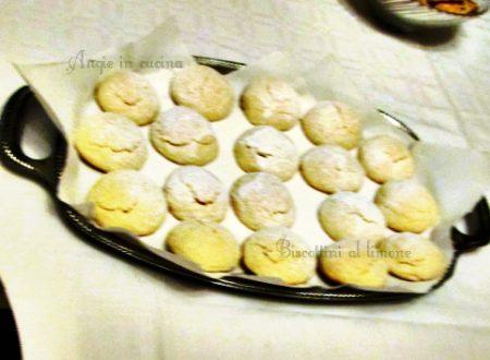 Biscottini al limone (ricetta semplice e gustosa)