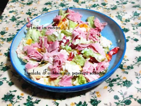 Insalata Fantasia con peperoni sottaceto
