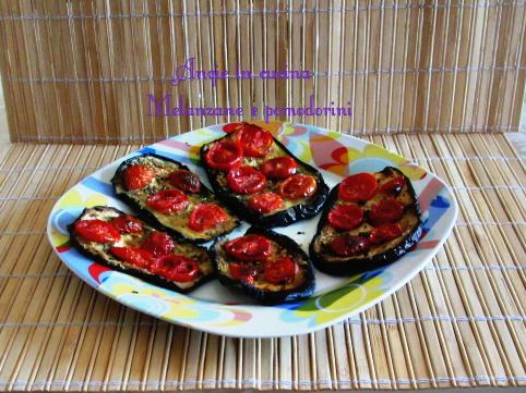 Melanzane e pomodorini al forno 3 versioni