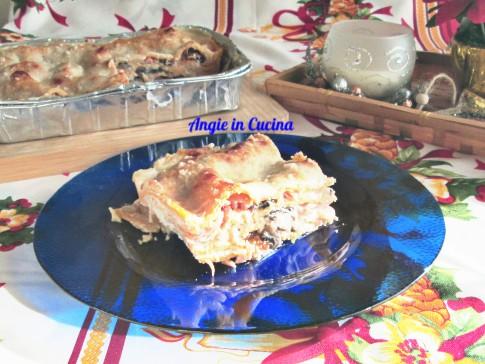 Lasagne di zucca al salmone
