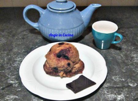 Mugcake con gocce di cioccolato