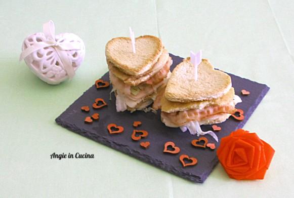 Club Sandwich di San Valentino