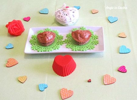 Heart muffin alla barbabietola