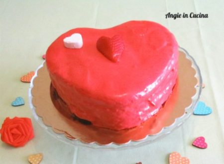 Torta Cuore glassata