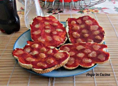 Panpizza margherita  ricetta di riciclo
