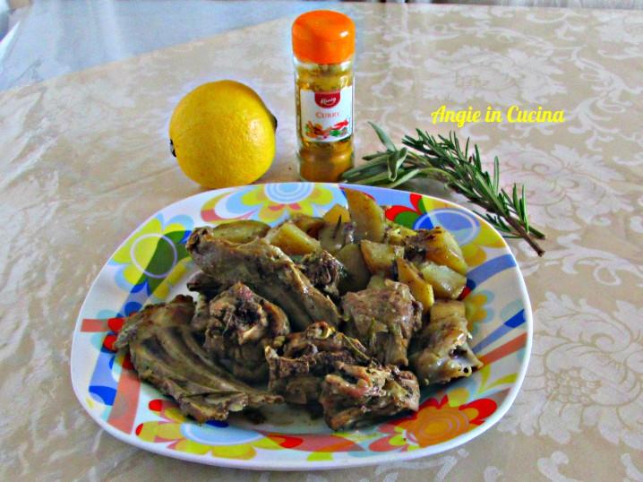 Agnello e patate agli odori