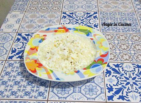 Risino konjac con ricotta speziata  ricetta light/dukan