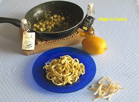 Scialatelli al limone con pesce spada ricetta regionale