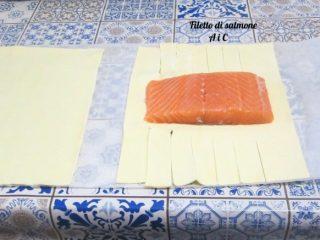 Salmone in crosta sfogliata