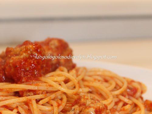 Spaghetti with Meatballs….[C'era una volta Lilly e Vagabondo….]