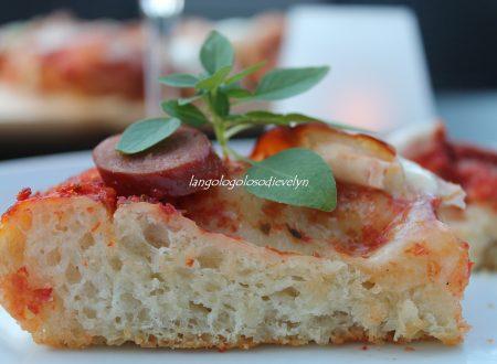 Pizza con pasta madre [Ricetta Fables de Sucre]