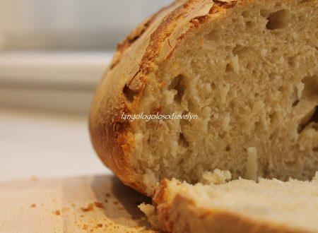Pane semplice con pasta madre [Ricetta Fables de Sucre]