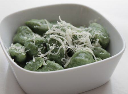 Gnocchi di patate con spinaci