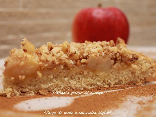 Torta di mele e cannella light…