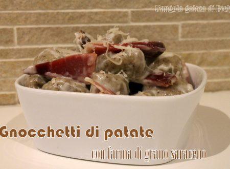 Gnocchetti di patate e grano saraceno