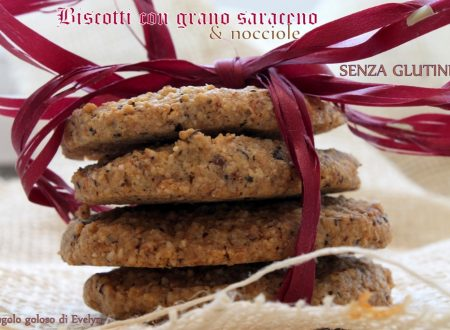 Biscotti di grano saraceno con nocciole (senza glutine)