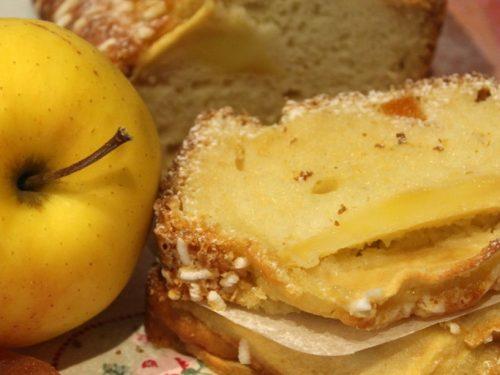Plumcake con albicocche secche&mele