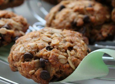Biscotti con fiocchi d'avena e cioccolato -vegan-