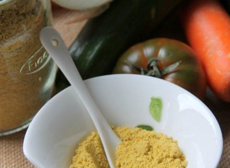 Dado vegetale granulare homemade