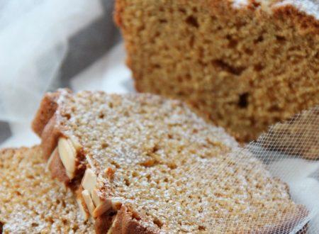 Plumcake con zucchero di canna