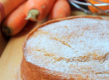 Torta carote, arance e zenzero – vegan –