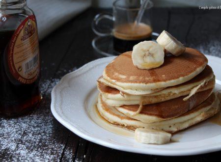 Pancake con latte d'avena