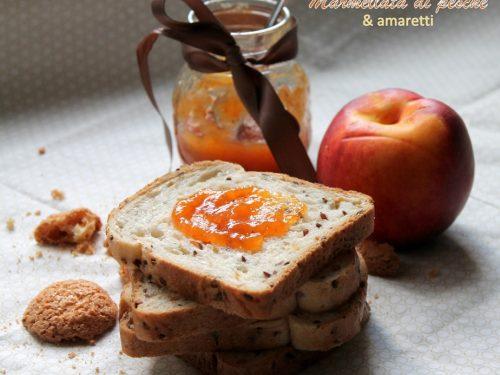 Confettura di pesche & amaretti (anche ricetta Bimby)