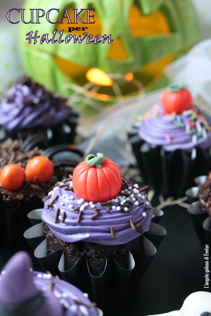 Cupcake al Cacao per Halloween