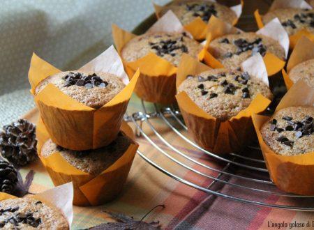 Muffin alla zucca e cioccolato