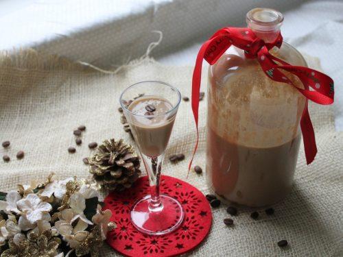 Liquore cremoso al caffè -homemade-