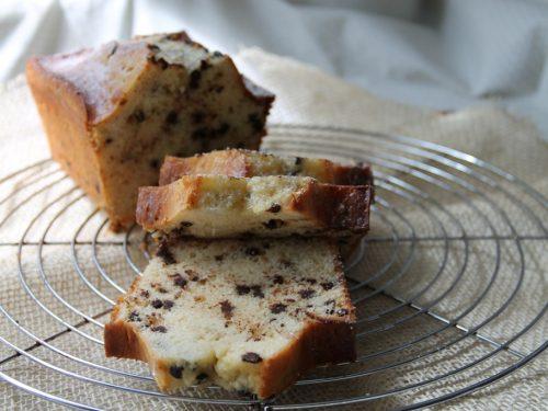 Plumcake alla ricotta e cioccolato