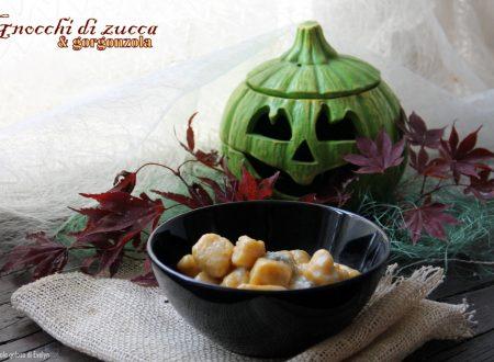 Gnocchi di zucca e gorgonzola