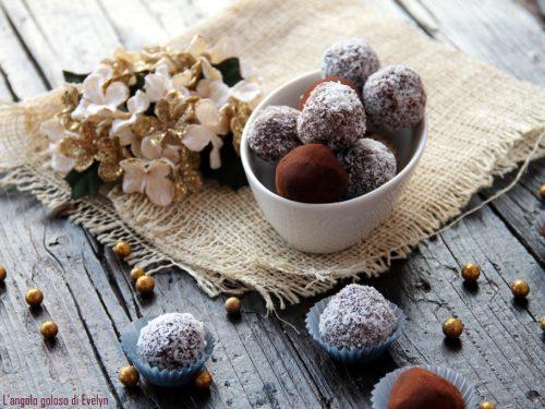 Tartufi cioccolato e panna
