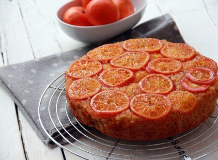 Torta di mandarini rovesciata