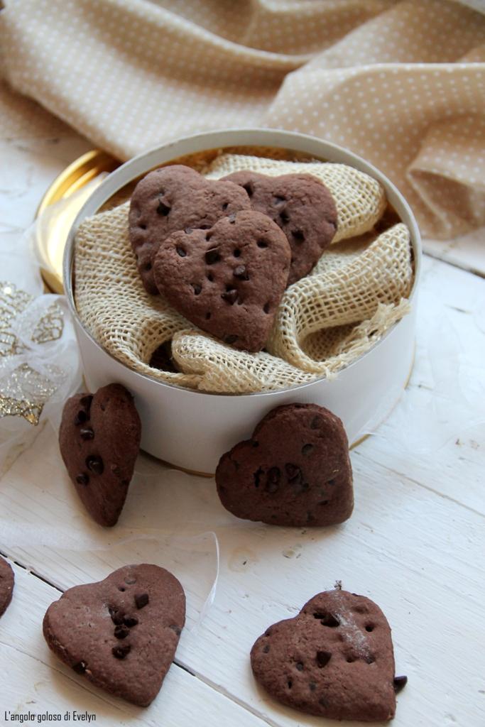 Frollini al Cacao e Panna