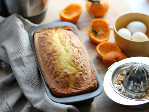 Plumcake soffice al mandarino