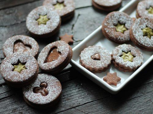 Gingerbread al cacao farciti