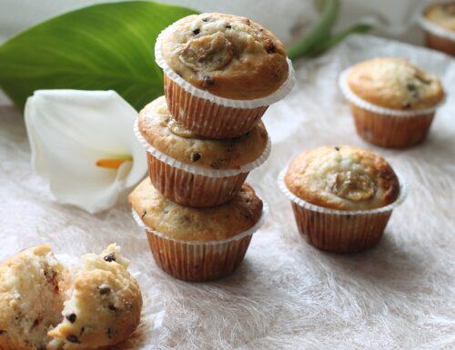 Muffin alla banana light