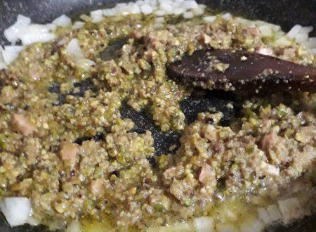 Pesto di Pistacchio fatto in casa