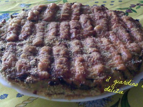 Torta prosciutto wurstel zucchine