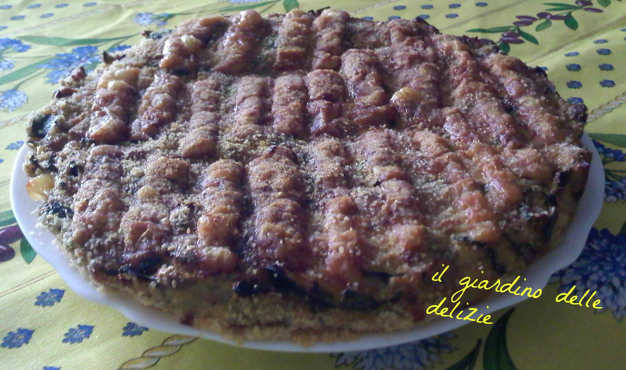 Torta Prosciutto Wurstel Zucchine Il Giardino Delle Delizie
