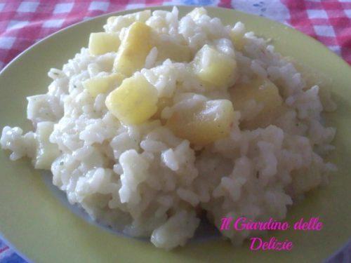 Risotto ananas e yogurt